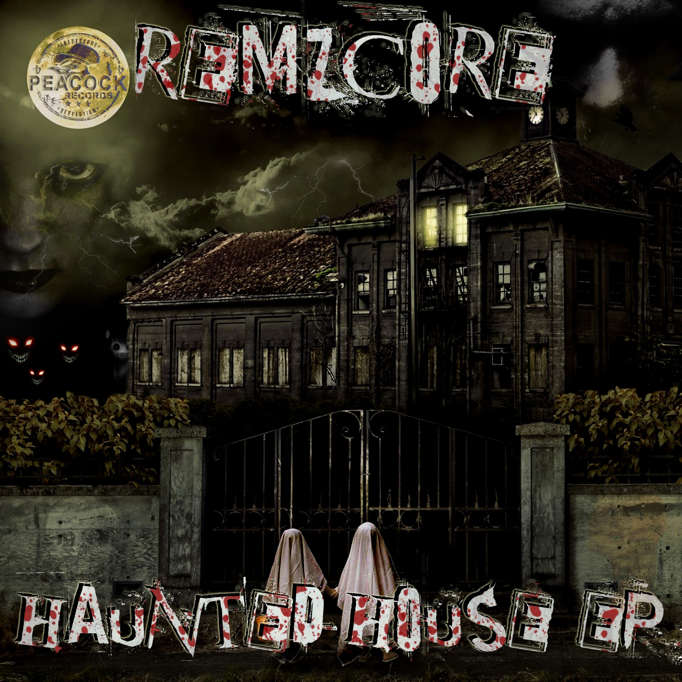 Dr peacock and remzcore haunted house ep mp3 and wav for Classic hard house tunes