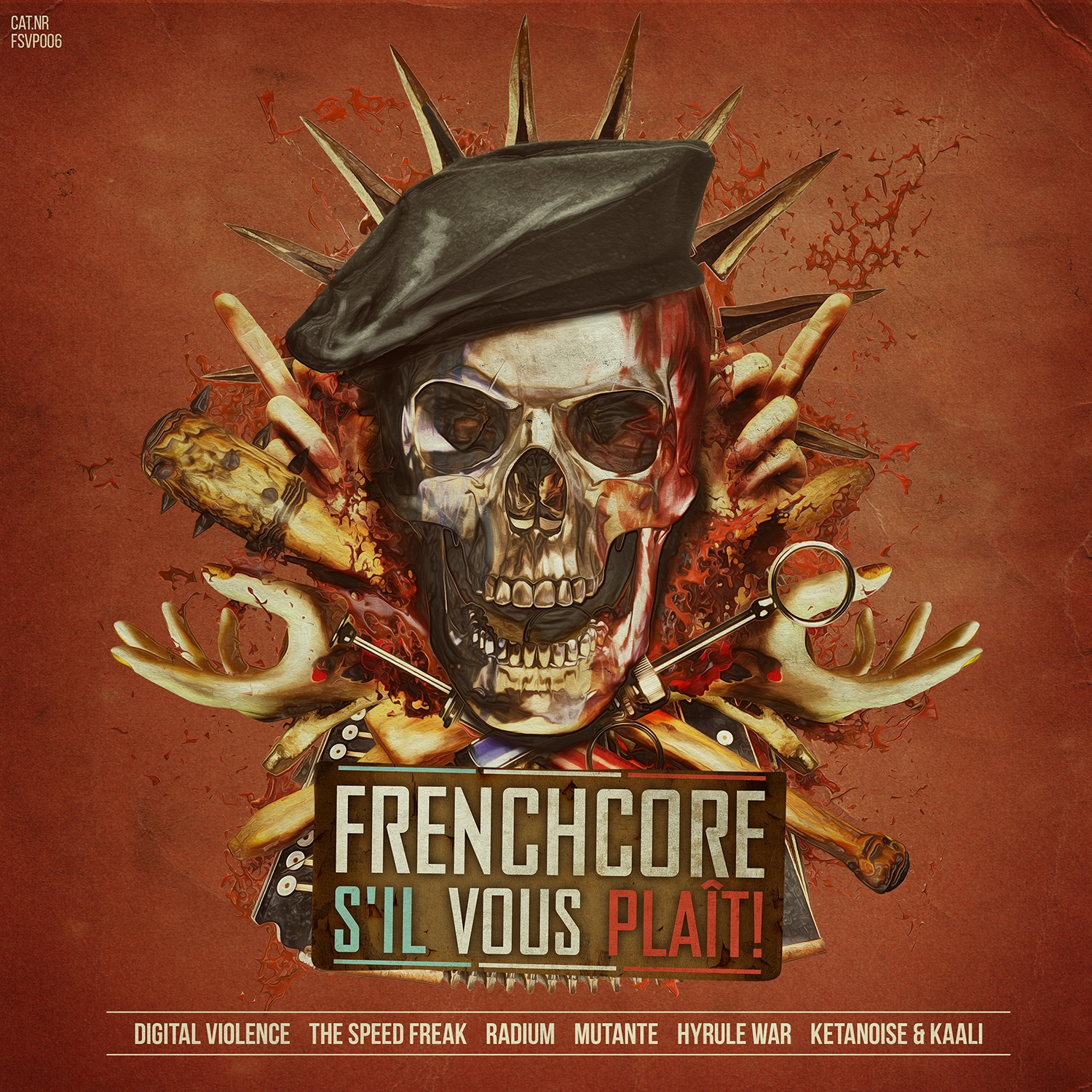 various artists frenchcore s 39 il vous pla t 006 mp3 and wav downloads at hardtunes. Black Bedroom Furniture Sets. Home Design Ideas