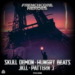 JKLL, Pattern J, Hungry Beats, Skull Demon - Frenchcore Heroes 08